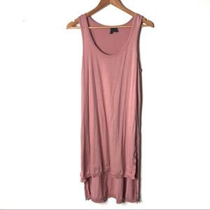 Anthro. left of Center baby pink dress